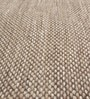 Brown Wool 92 x 64 Inch Hand Made Flat Weave Carpet by HDP