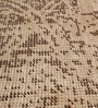 Chocolate Brown Wool 80 x 56 Inch Indian Hand Made Knotted Carpet by HDP