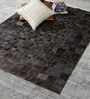 Cola Brown Leather 72 x 48 Inch Hand Made Carpet by HDP