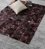 Cola Pink Leather 72 x 48 Inch Hand Made Carpet by HDP
