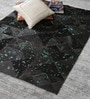 Cola Turquoise Leather 72 x 48 Inch Hand Made Carpet by HDP