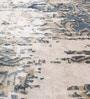 HDP Multicolour Viscose 92 x 64 Inch Hand Made Indo Nepal Tibetan Carpet
