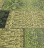 Multicolour Wool 80 x 56 Inch Hand Woven Flat Weave Area Rug by HDP