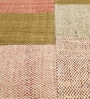 HDP Multicolour Wool 80 x 56 Inch Hand Woven Patchwork Area Rug