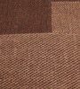 Multicolour Wool 80 x 56 Inch Hand Woven Patchwork Carpet by HDP