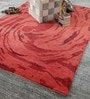 Multicolour Wool 80 x 56 Inch Indian Hand Knotted Carpet by HDP