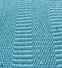 Sky Blue Cotton 92 x 64 Inch Hand Woven Flat Weave Area Rug by HDP
