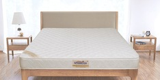 Premium Healthpaedic Queen Bed Back Support 78x60x5 Inch Coir & Foam Mattress (Free Pillow)