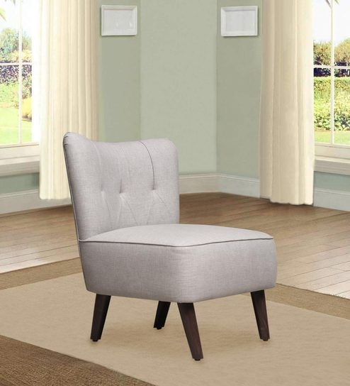Strange Helena Accent Chair In Light Grey Colour By Peachtree Caraccident5 Cool Chair Designs And Ideas Caraccident5Info
