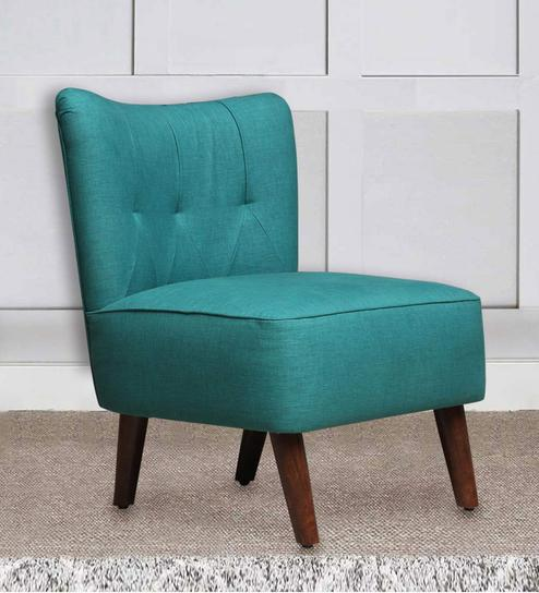 Accent Chairs.Helena Accent Chair In Sea Green Colour By Peachtree