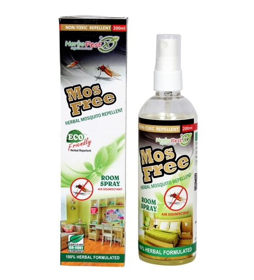 Herbo Pest Mosfree Brms001 Mosquito Repellent Spray