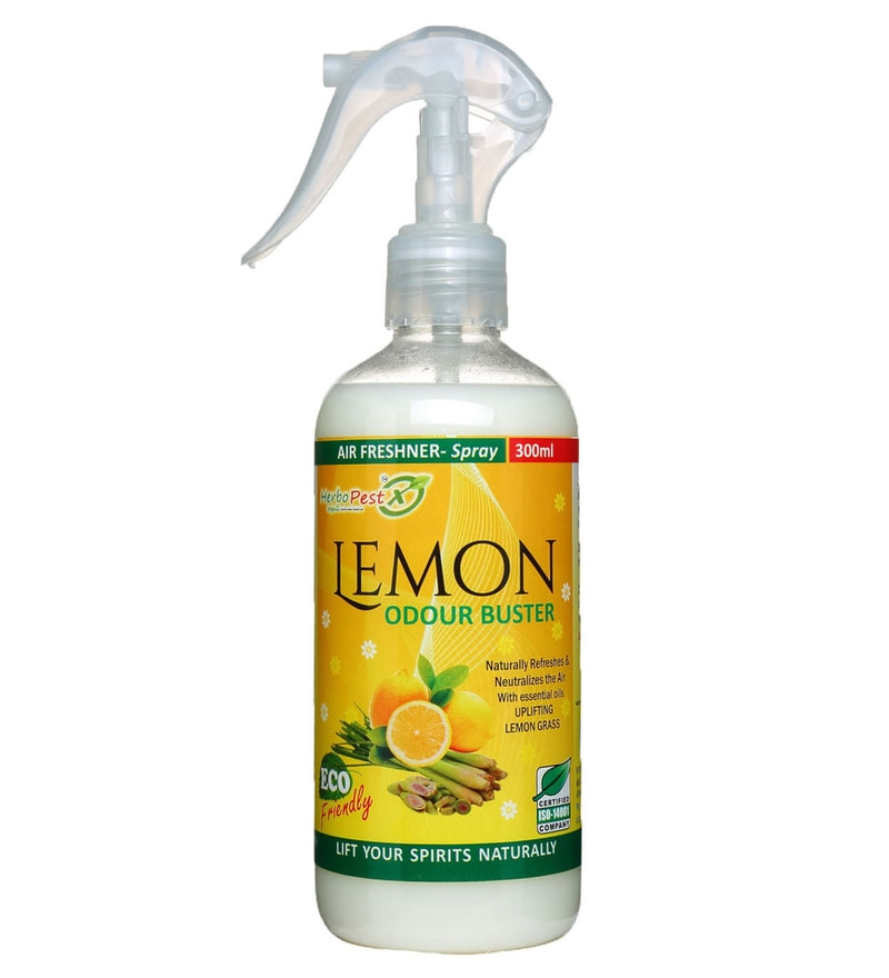 Herbo Pest Lemon Odour Buster 300 ML Air Freshener