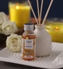 Healthvit Sandal Cinnamon Flora Reed Diffuser with Ceramic Pot
