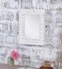 White Mango Wood Framed Mirror by Heera Hastkala