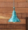 Green Iron 40 W LED Pendant by Height of Designs