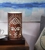 Buddha White Acrylic Table Lamp by Height of Designs