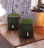 Green Iron Jamun Tree Tea Light Votive by Aasra