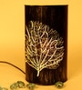 Height of Designs Tree Piller Dark Brown Iron Table Lamp