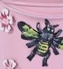 Aasra Pink Iron Bee Planter - Set of 3