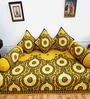Heritagefabs Yellow Cotton Diwan 6-piece Set