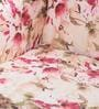 Lorraine Wing Chair in Salmon Pink Floral Print by Amberville