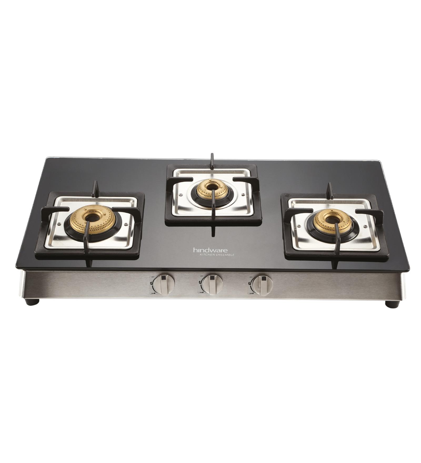 Hindware Lorenzo Glasstop 3 -burner Cooktop
