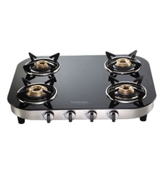 Hindware Franco Glasstop 4 -burner Cooktop at pepperfry