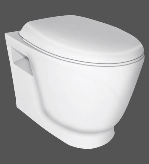 Hindware Dome Star White Ceramic Water Closet (Model: 92517)