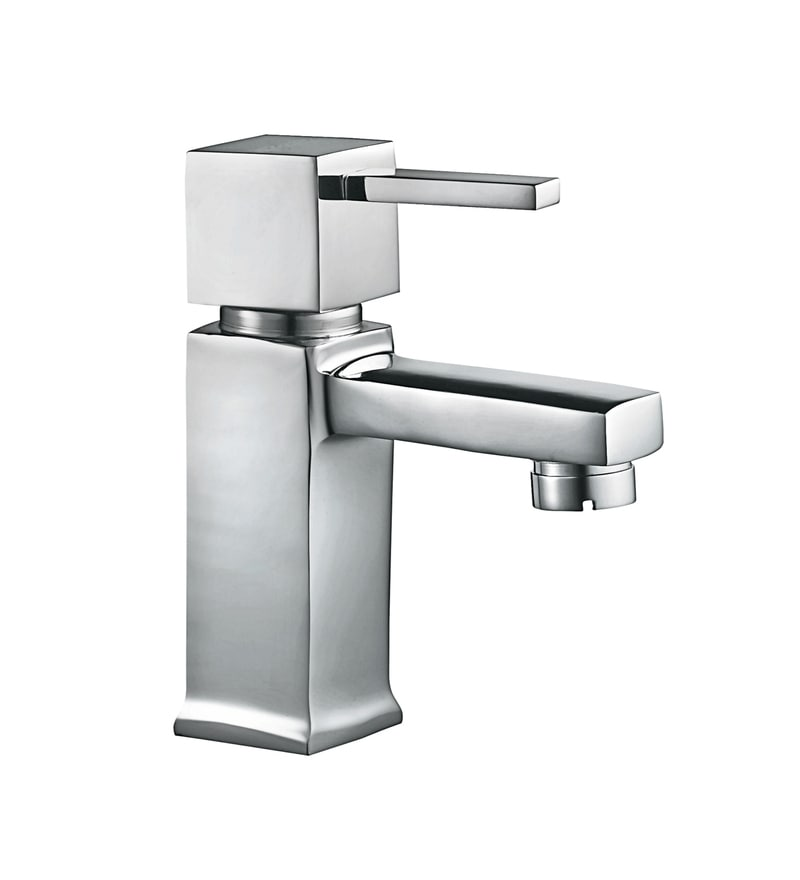 Hindware Chrome Brass Basin Tap (Model: F190001CP)