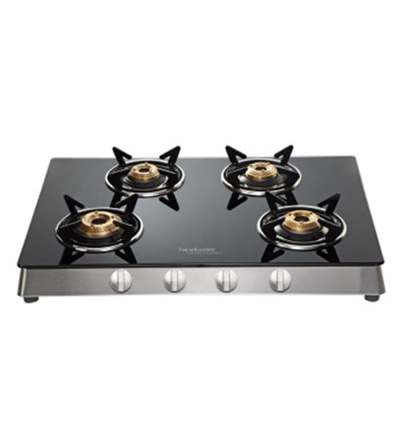Hindware Flavio Glasstop 4 -burner Auto Ignition Cooktop