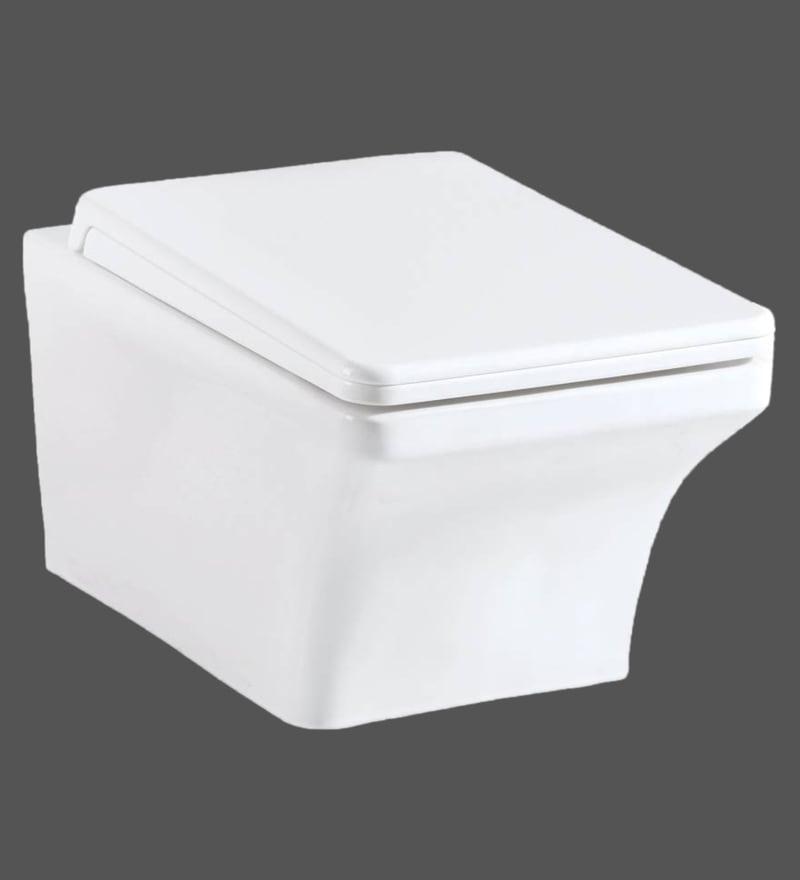 Hindware Nile Star White Ceramic Water Closet (Model: 92525)