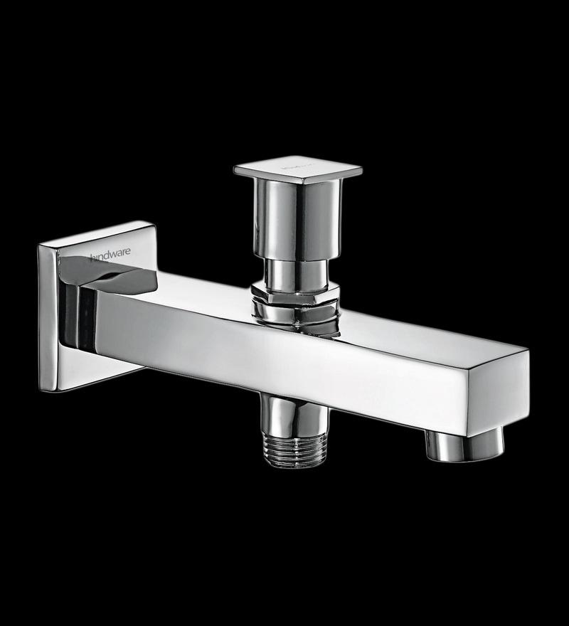 Hindware Rubbic Silver Brass Hand Shower Tip-ton Bath Tub Spout