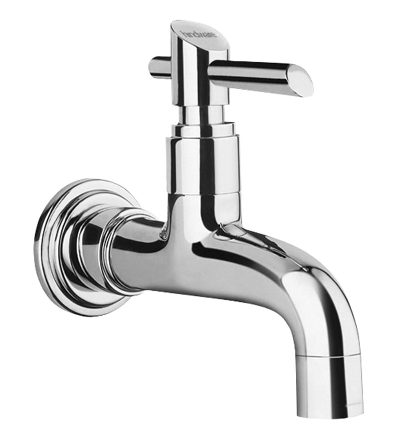 Hindware Immacula Silver Brass Wall Flange Bath Tap
