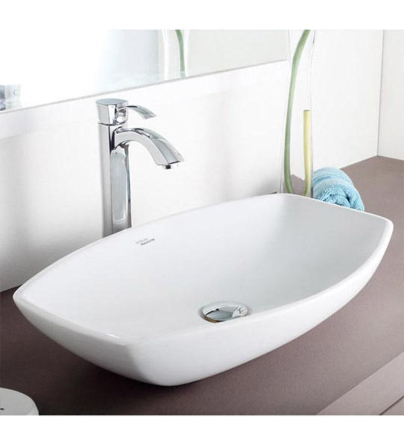 Buy Hindware Viva Ceramic Table Top Wash Basin Model No