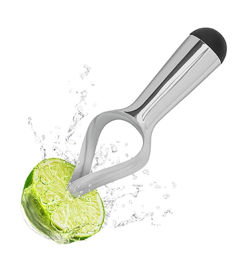 Hitplay Citritwist Silver Aluminium Lime Squeezer