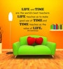 Highbeam Studio Black Self Adhesive Polyvinyl Film APJ Kalam Quote Wall Decal