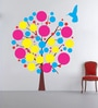 Multicolour Self Adhesive Polyvinyl Film Evening Bird Wall Decal by Highbeam Studio