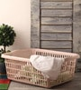 Hindz Plast Light Pink Plastic Laundry Basket