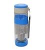 Hitplay Blue Acrylic 600 ML Top Flat Opening Tea Bottle