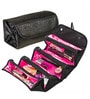 Hitplay Roll N Go Nylon Black & Pink Jewellery Organiser