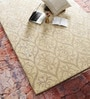 Cream Viscose Wool 60 x 96 Inch Area Rug by HNS Homes