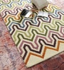 Hns Homes Multicolour Wool 60 x 96 Inch Geometric Area Rug