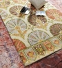 Multicolour Wool 60 x 96 Inch Indian Ethnic Area Rug by HNS Homes