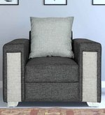 Hodson One Seater sofa in Grey Colour
