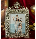 Silver Metal 8.5 x 13 Inch Single Photo Frame