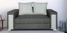 Hodson Two Seater sofa in Grey Colour