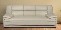 Hola Three Seater Sofa in Cream Colour