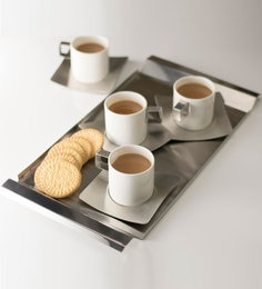 Hot Muggs Classic Stainless Steel Serving Tray