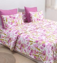 Purple 100 Cotton Double Size Duvet Cover
