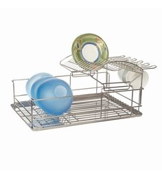 Howards Storage World 2 Tier Stainless Steel Dish Rack